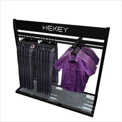Clothes Hanger Display Rack